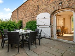 vacation rental with pool for silver surfers east midlands | Thorganby Hall
