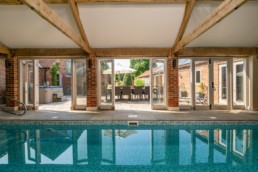 vacation rental with pool for families east midlands | Thorganby Hall