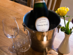 champagne lovers east midlands | Thorganby Hall