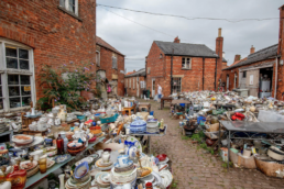 thrift shopping East Midlands car boot sale | Thorganby Hall