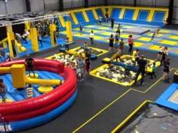 trampoline park fun activities for families in Lincoln | Thorganby Hall