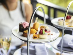 afternoon tea at holiday rental | Thorganby Hall